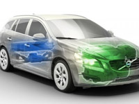 Volvo представила первый в мире дизельный гибрид