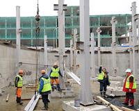 Строительство вокзала «Олимпийский парк» вышло на новую стадию