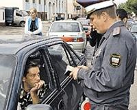 Милиция отбирает машины у протестующих пермяков
