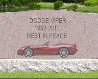 Dodge Viper впал в «кому»