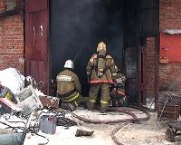 В Перми из-за взрыва газа сгорели три гаража
