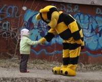 «Пчелки» и кот Кузя – за чистый город