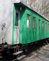 В поселок Кын прибыл вагон-музей Гражданской войны