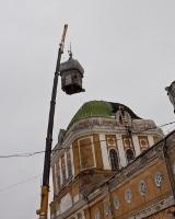 Демонтирован купол Спасо-Преображенского кафедрального собора