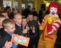 Первыми посетителями «Макдоналдса» в Перми стали дети-сироты