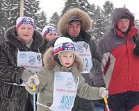В 25-градусный мороз «Лыжня России» собрала 15 тысяч прикамцев