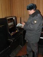 Архангельские полицейские изъяли 12 игровых аппаратов