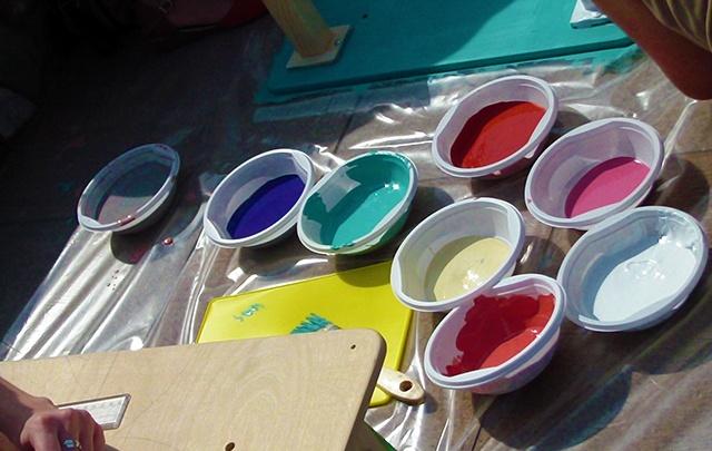 Буйство красок на «Празднике цвета»