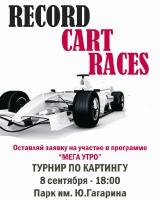 Проект RECORD CART RACES