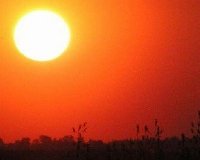 В губернии из-за жары объявили штормовое предупреждение