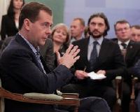 Владимир Кошелев встретился в Екатеринбурге с Дмитрием Медведевым