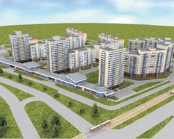 Микрорайон ДКЖ приобретет вид компактного города