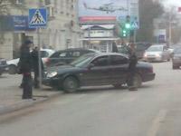 VIP-автомобили не поделили перекресток Большой Садовой и Соколова