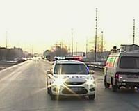 В Тюмени утром микроавтобус насмерть сбил мужчину
