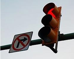 Разрешат ли все-таки поворачивать на красный?