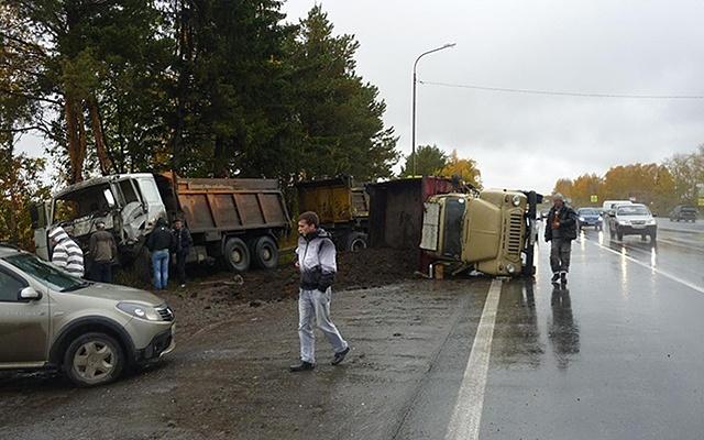 Гонки на выживание: BMW врезался в автобус
