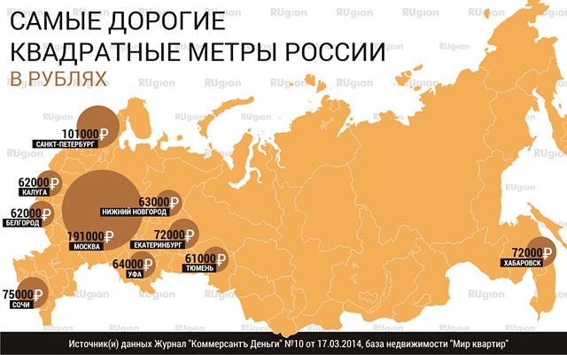 Тюменские «квадраты» – в топ-10 самых дорогих