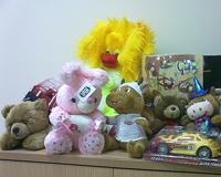 Детям-инвалидам подарят новые игрушки