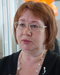 Нина Нежиборская, помощник депутата городской думы по 25 избирательному округу, председатель Тюменской городской общественной организации «Особый ребенок»: «Чем выше зарплата, тем больше взятка»