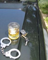 Пьяный протаранил три машины