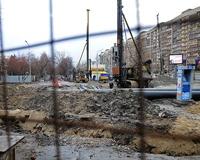 Переход достроят в 2012 году, проезжую часть откроют через полгода