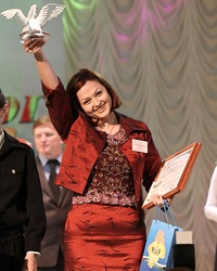 На конкурсе «Учитель года» Тюмень болеет за Ольгу Редину