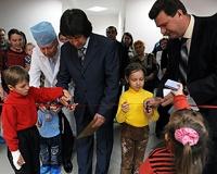 Детский уголок появился в одной из поликлиник