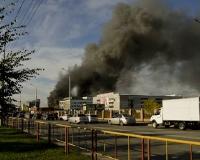 Причины пожара в ТЦ «Европа» пока не установлены