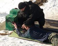 Кадеты вместе со спецназом Наркокотроля стреляли из автоматов
