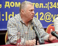 Владимир Жириновский приехал в Тюмень