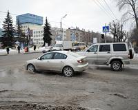 Фонтан на улице Республики обнаружили сотрудники ГИБДД