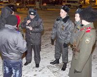 Патрулировать улицы Тюмени по вечерам будут 20 казаков