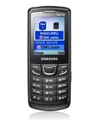 Samsung E1252: странный «бюджетник» с двумя SIM-картами