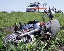 Смертельный пируэт на мотоцикле