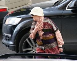 Старушку-нарушительницу задавила иномарка