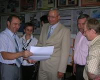 Министр образования и науки области посетил ЧелГУ