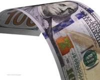 Доллар окрасится в небесно-голубой цвет
