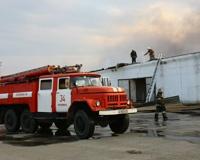 На птицефабрике «Равис» в поселке Рощино потушен крупный пожар