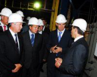 На ЧМК состоялся пуск агрегатов внепечной обработки стали