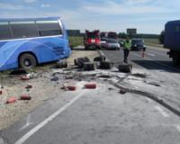 На трассе Екатеринбург – Челябинск столкнулись «газель», автобус и ВАЗ-2111