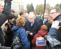 Сергей Миронов закончил визит в Челябинск и улетел в Магнитогорск