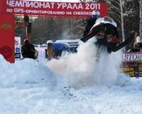 Карабаш принял этап чемпионата Урала по GPS-ориентированию на снегоходах