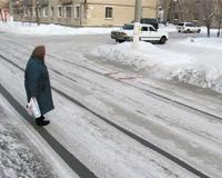 Коркинские власти ищут самые большие сосульки и нечищеные дороги
