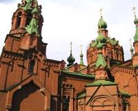 В храме Александра Невского прошло первое богослужение с новой святыней