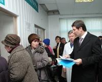 Юревич потребовал наладить работу в поликлинике онкодиспансера