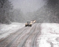 На трассах в Челябинской области ожидаются ЧС из-за сильного снегопада