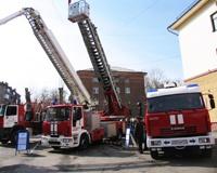 В Челябинске отметили 362-ю годовщину со дня образования пожарной охраны