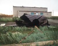 Кизильскому клубу сорвало крышу: власти района подсчитывают убытки