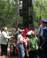 Памятник погибшему экипажу вертолета МИ-6 в Увельском реконструировали