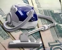 У карабашского коммерсанта украли пылесос, в котором был миллион рублей